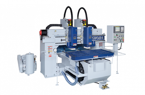 Compact 2 Heads CNC Router